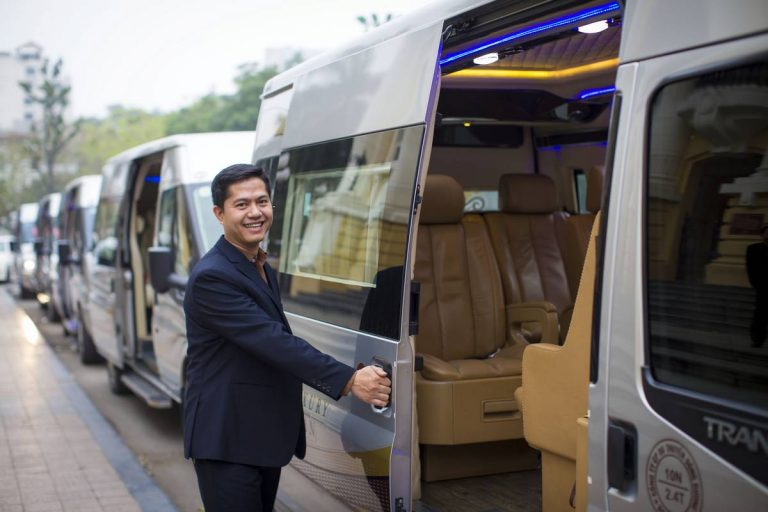Hanoi Halong Bay Transfer Luxury Van