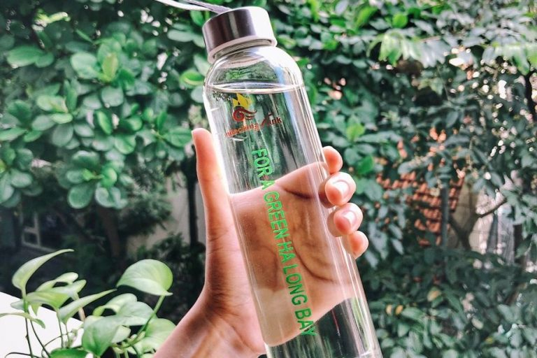 Indochina Junk Replace single use plastic bottles with glass bottles
